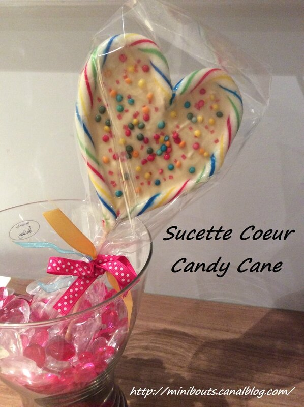 sucette coeur candy cane