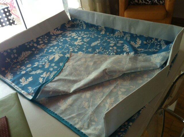 fabriquer une housse de rangement facile le mas de l 39 ange. Black Bedroom Furniture Sets. Home Design Ideas