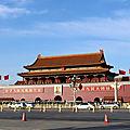 Pékin, visite de la place tian-an-men et la cité interdite