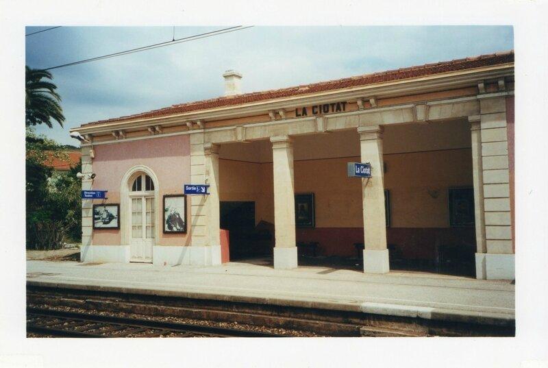 La Ciotat, la gare, 1999