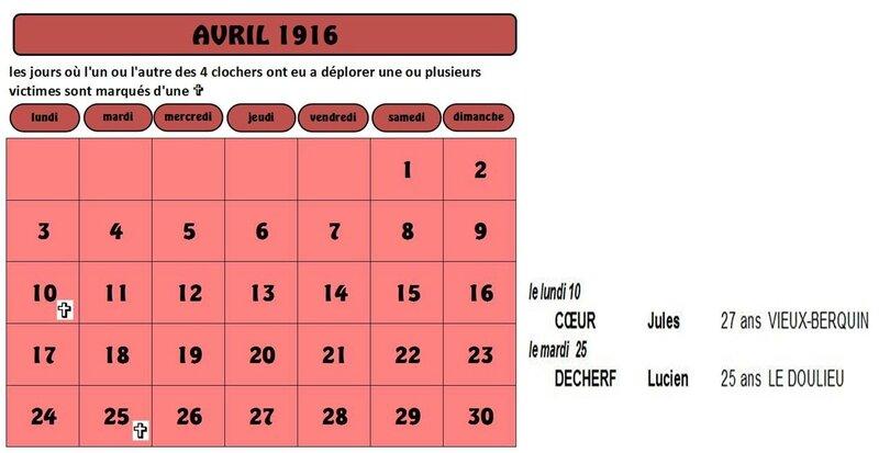 calendrier pour site