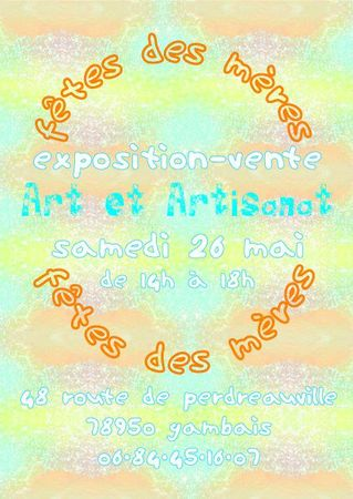 Expo-Vente 26 mai