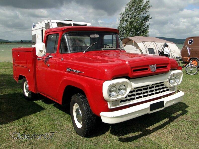 ford f100 ex firetruck 1960 a