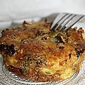 Clafoutis brocolis et mozzarella