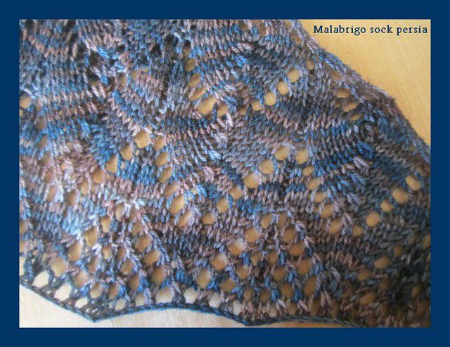 travelling woman malabrigo sock persia