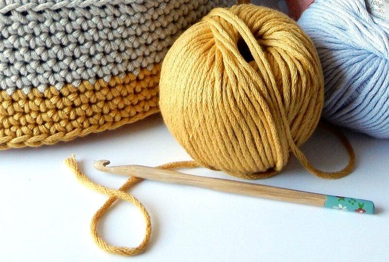 crochet - natura xl - anisbee