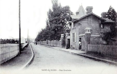 SAINS DU NORD-Rue Gambetta