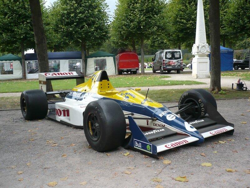 WILLIAMS FW12 la Formule 1 moteur Renault de Riccardo Patrese 1989 Schwetzingen (1)