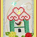 Échange ATC Perso Avril (Nichoir) Isaphanie pour Marie de Clessé 1