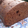 ...chocolate orange loaf cake...