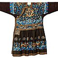 An important chinese imperial prince's robe, qing dynasty (1644-1911), circa 1800-1830