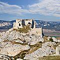 Le château médiéval de la reine jeanne