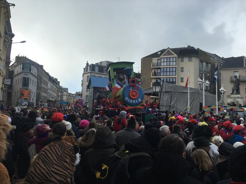 Carnaval Granville Manche 2017 Gisèle