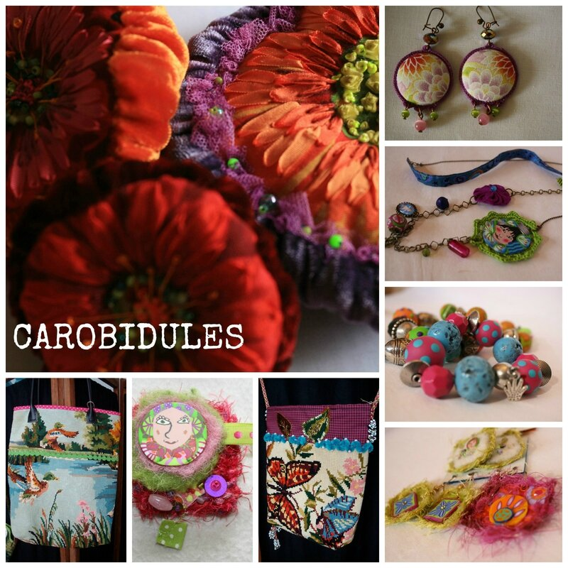 carobidules collage vente