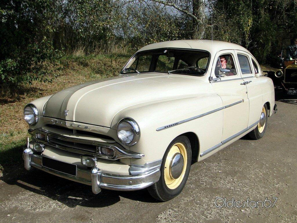 Ford Vedette 1954 Oldiesfan67 Quot Mon Blog Auto Quot