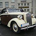 OPEL Super Six 2,5 Liter cabriolet Hebmüller Speyer (1)