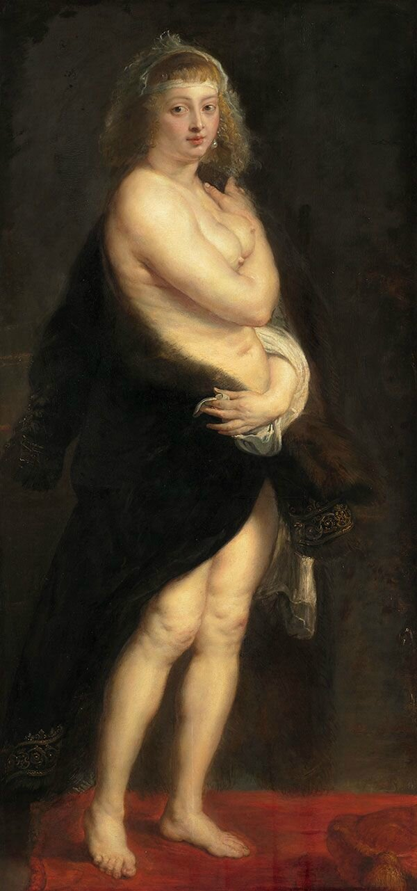 Exhibition focuses on Rubens' celebrated portrait of his second wife, Helena Fourment