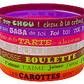 Les Bracelets  messages - Quelques mots gravs pour le dire...