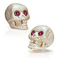 Cellini jewelers. mammoth bone skull cufflinks
