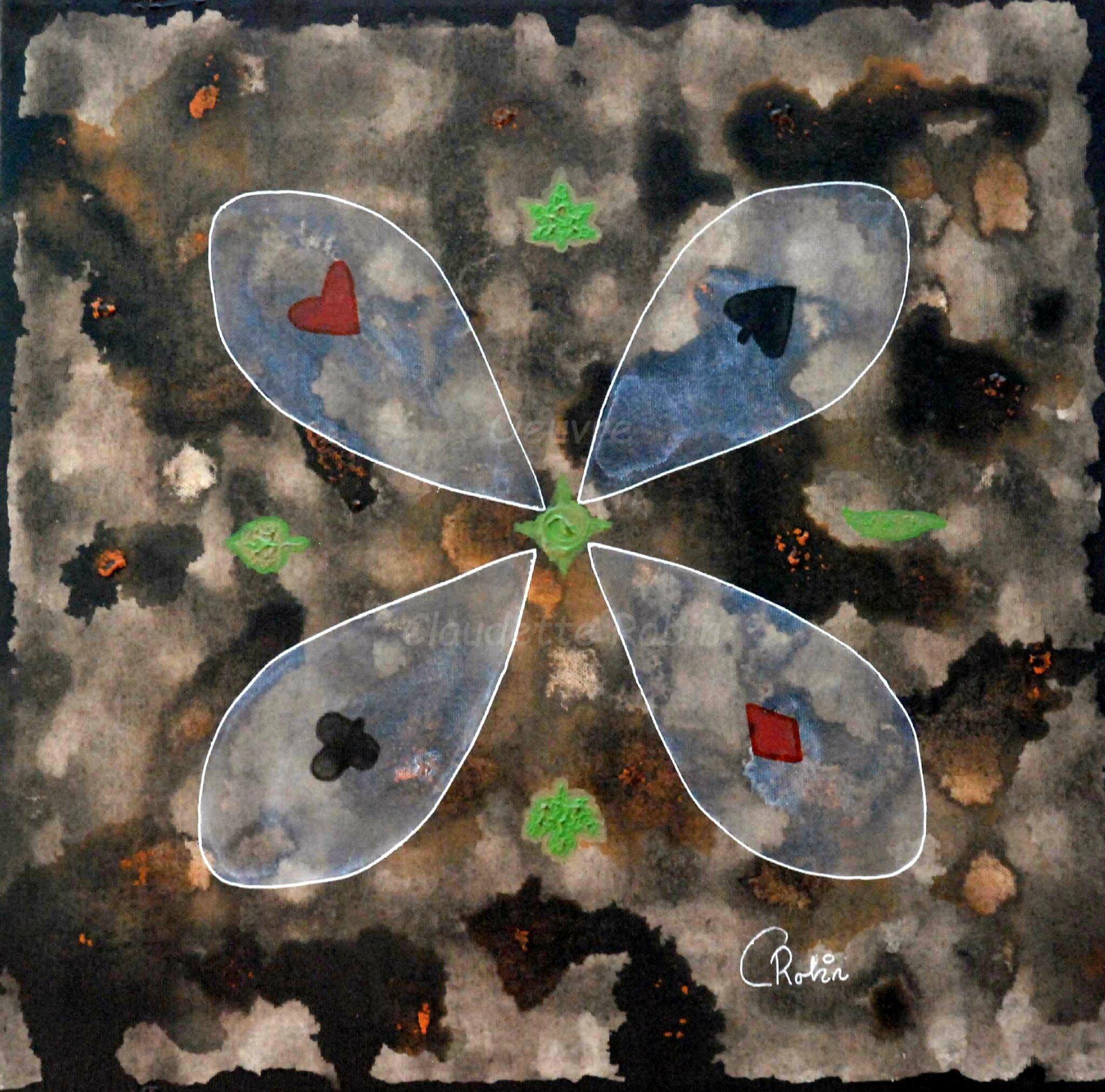 Ma dernière toile, dans la catégorie « art populaire » - cadeau (toile 111)