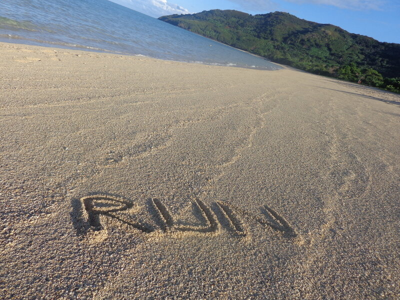 Run on the beach !