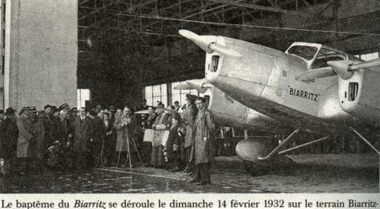 Biarritz en 1932