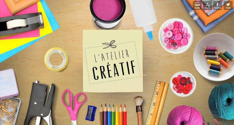 L'atelier créatif