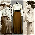 Catalogue mode phystorique edwardian ensemble 1900-1905
