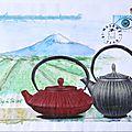 cathala florence thé art postal fête du fil 2016