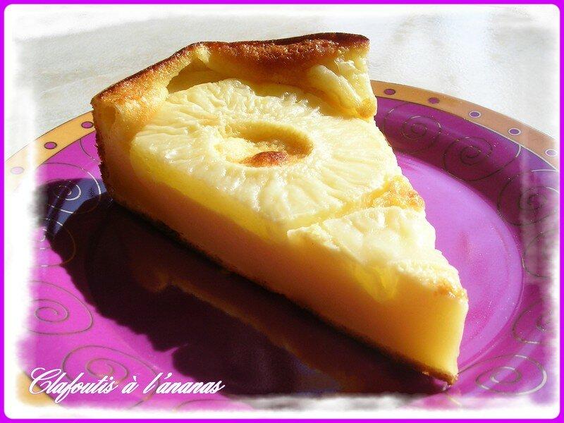 clafoutis 224 l ananas aux mille et un d 233 lices