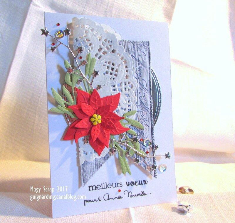 Napperon - fleur - étoiles - fanion ...