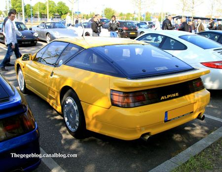 Alpine A610 turbo (Rencard Haguenau avril 2011) 02