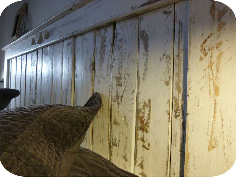 Tete de lit avec portes anciennes - Tetes de lit anciennes ...