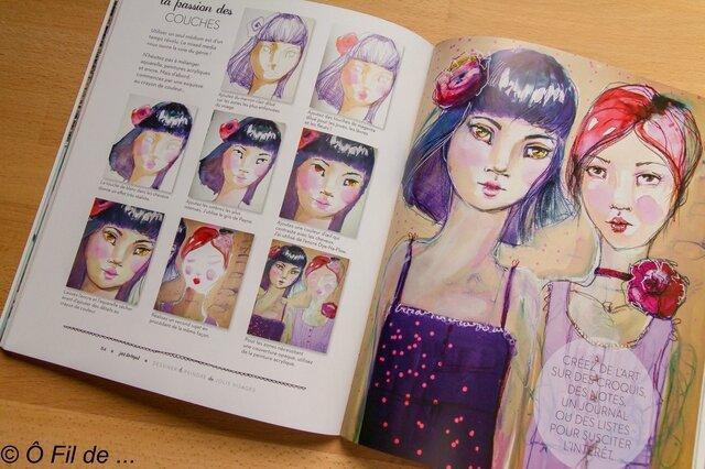Dessiner et peindre de jolis visages (2)