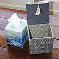 Boîte à mouchoirs carrée (1)
