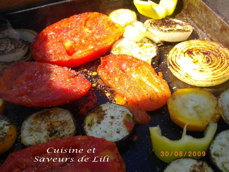Magrets de canard et parillada de l gumes la plancha cuisine et saveurs de lili - Cuisson magret de canard plancha ...