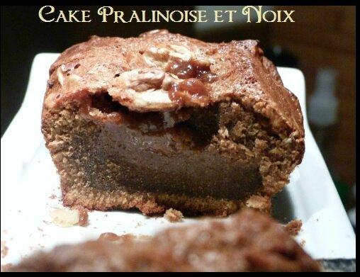 """ღ """" Miam """" Cake Pralinoise et Noix"""