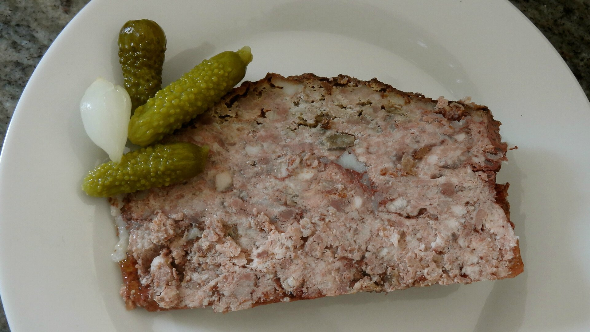 how to serve pate de campagne