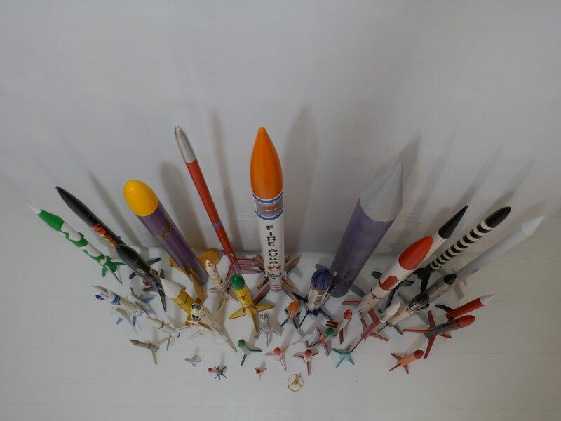 203 Toutes les fusées réunies