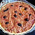 Recette : tarte feuilletée au thon et à la tomate