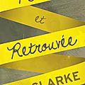 Clarke, cat : perdue et retrouvée