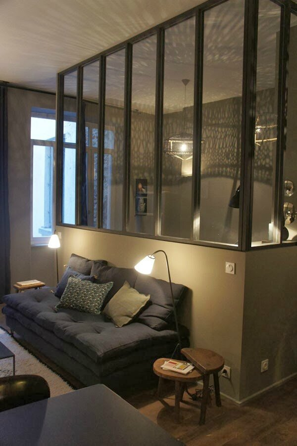 Un Appartement Gris Tr S Cosy Sonia Saelens D Co