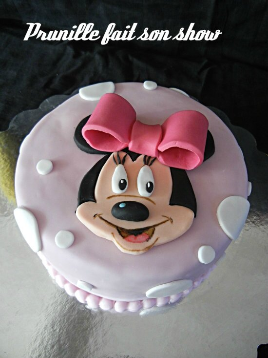 minnie mouse cake prunillefee