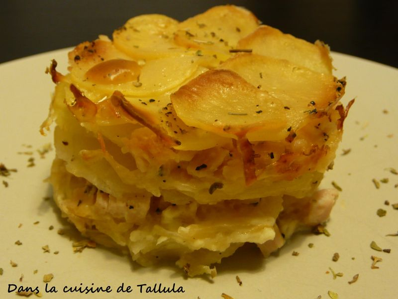 gratin de panais et pommes de terre fa on dauphinois dans la cuisine de tallula. Black Bedroom Furniture Sets. Home Design Ideas