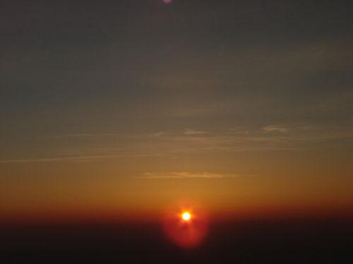 2008 05 23 Le levé du soleil depuis le Mont Mézenc