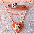 279 - Ensemble Hello Kitty orange