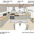 Projet client: une cuisine rustique relookée
