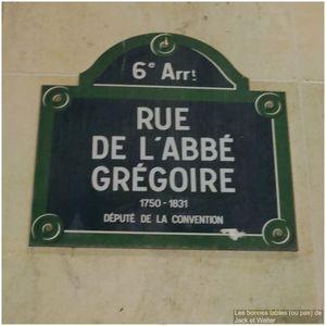 28 rue de l'Abbé Grégoire, 75006 Paris