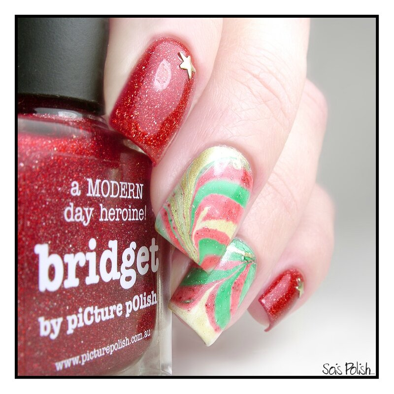 Picture Polish Watermarble Sois Polish