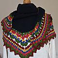 Châle folk-tricot-crochet-laine-La chouette bricole (23)